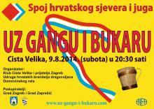 """8. Festival """"Wo sich der Norden mit dem Süden Kroatiens trifft."""" –   """"Zu Ganga-Gesang und Holzkrug"""""""