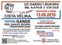 """10 festival """"Okupljeni u jedno - Uz gangu i bukaru"""""""