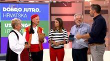 Nastup na HTV: Uz gangu i bukaru - 'Dobro jutro, Hrvatska'